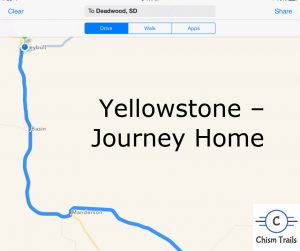 Journey Home from Yellowstone