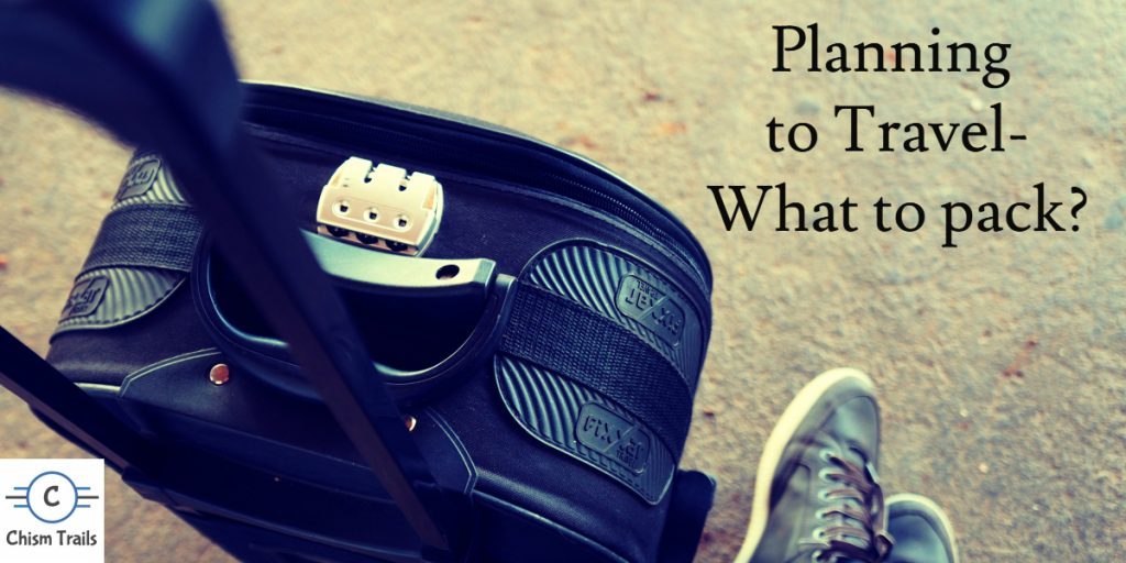What to Pack? Travel Planning