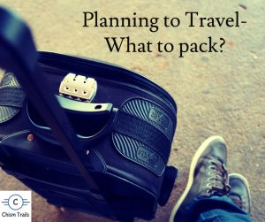 Travel Plans Packing Tips