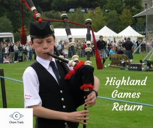 Fun at the Highland games